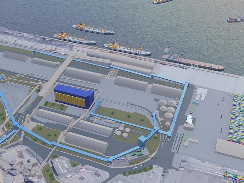 Mineração, Portuárias e Logistica - Atuação | NJB Engenharia