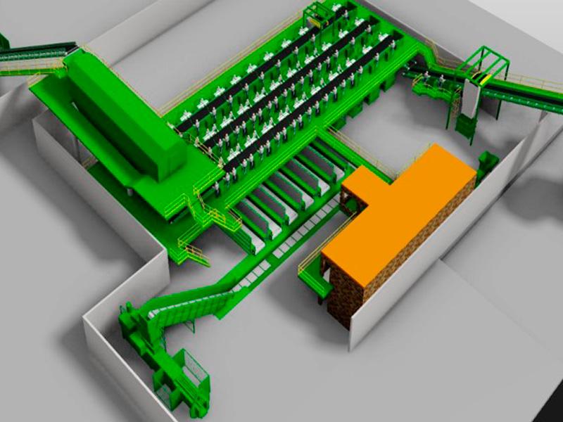 Tratamiento de residuos sólidos industrial y urbano - Actuación | NJB Engenharia